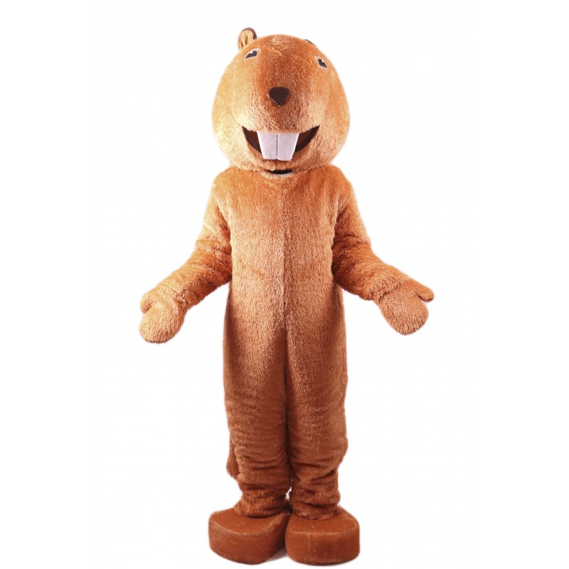 Adult Beaver Lightweight Mascot Costume