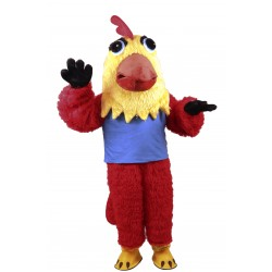 Lightweight Rooster Mascot Costume