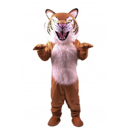 Fierce Wildcat Lightweight Mascot Costume
