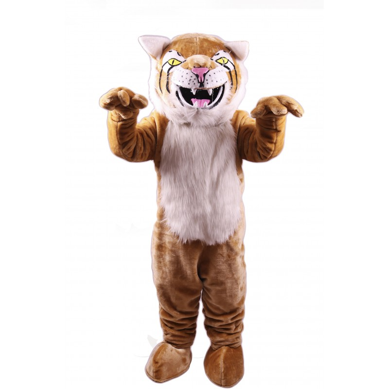 Bobcat Lightweight Mascot Costume