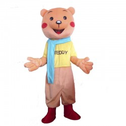 Cartoon Teddy Bear Lightweight Mascot Costume
