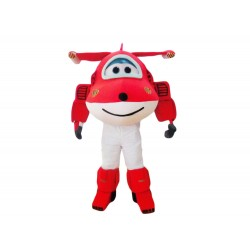 Super Wings Cartoon Jett Mascot Costume