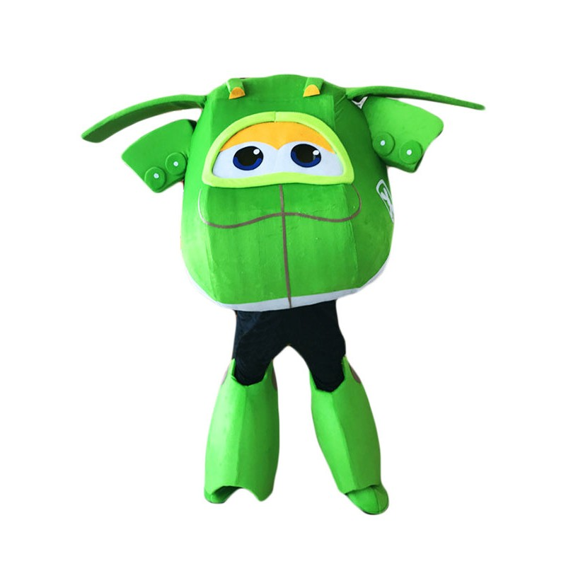 Super Wings Cartoon Mira Mascot Costume