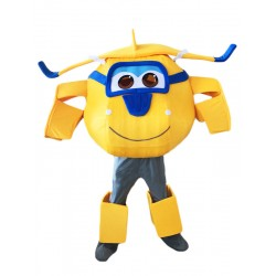 Super Wings Cartoon Donnie Mascot Costume