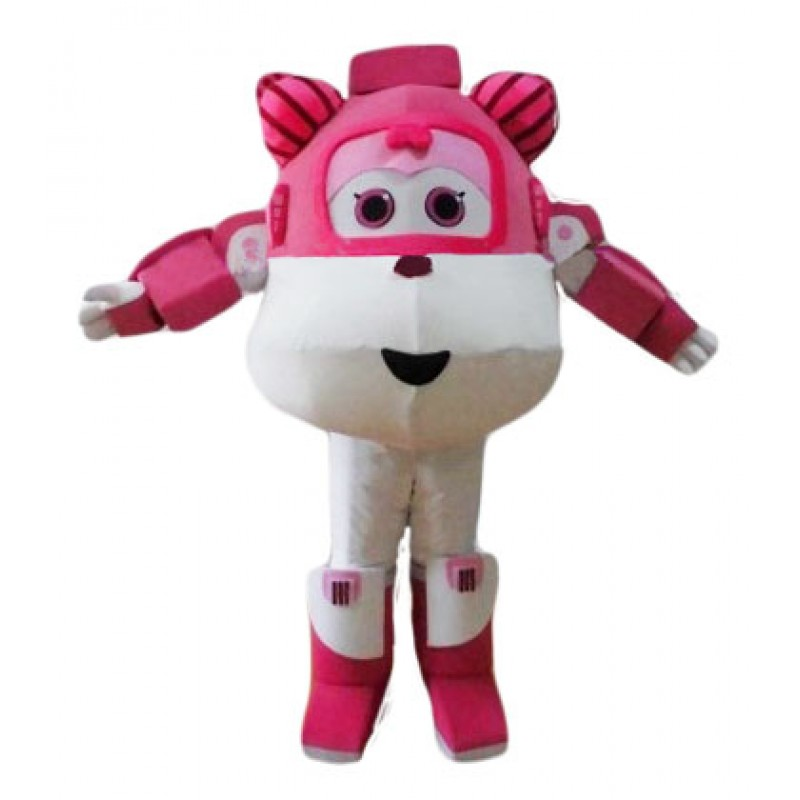 Super Wings Cartoon Cute Dizzy Mascot Costume