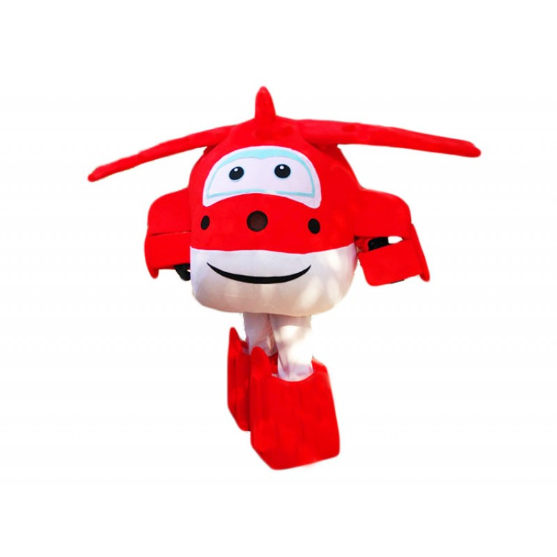Super Wings Cartoon Cute Jett Mascot Costume