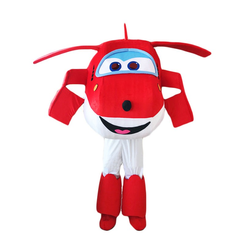 Super Wings Cartoon New Jett Mascot Costume