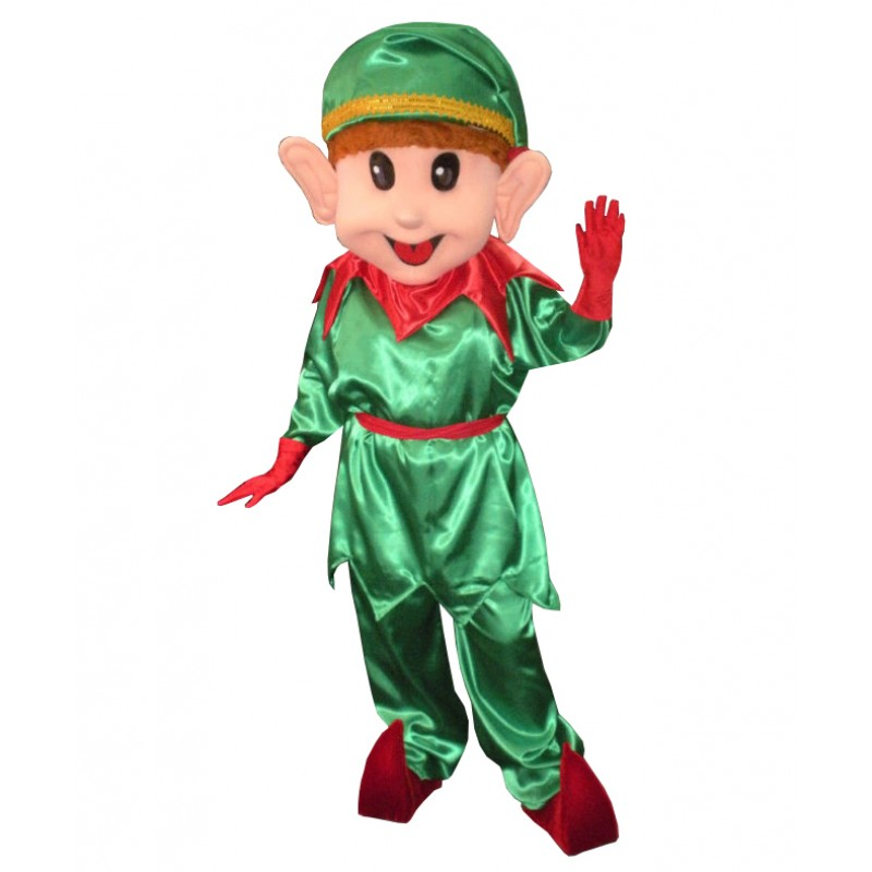 Lovely Christmas Elf Mascot Costume