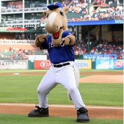 Chicago White Sox v Texas Rangers Mascot Costume