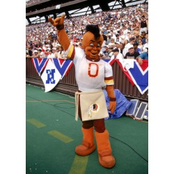 Indian Washington Redskins Mascot Costume