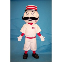 Mr. Redlegs Cincinnati Reds Mascot Costume