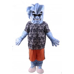 Willie the Wave Awkward Lightweight Mascot Costume