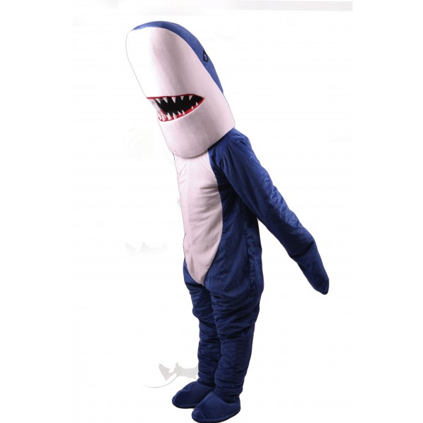 Blue Sharky Shark Mascot Costume Free Shipping