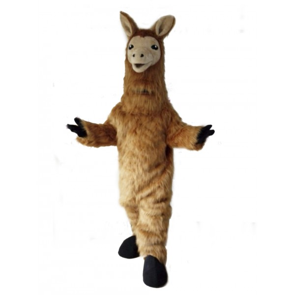 Llama Mascot Costume Animal Sheep Costume Fancy Dress