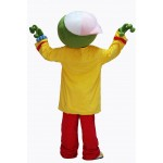 Cute Male Green Frog Mascot Costume on Clearance