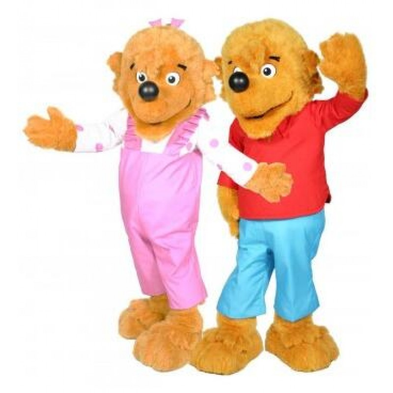 sc 1 st  ShopMascot.com & Berenstain Bear Brother Bear and Sister Bear Mascot Costume