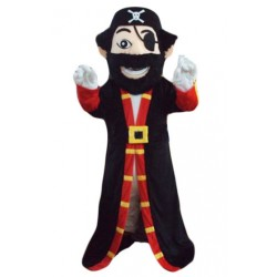 Beard Pirate Captain Mascot Costume Free Shipping