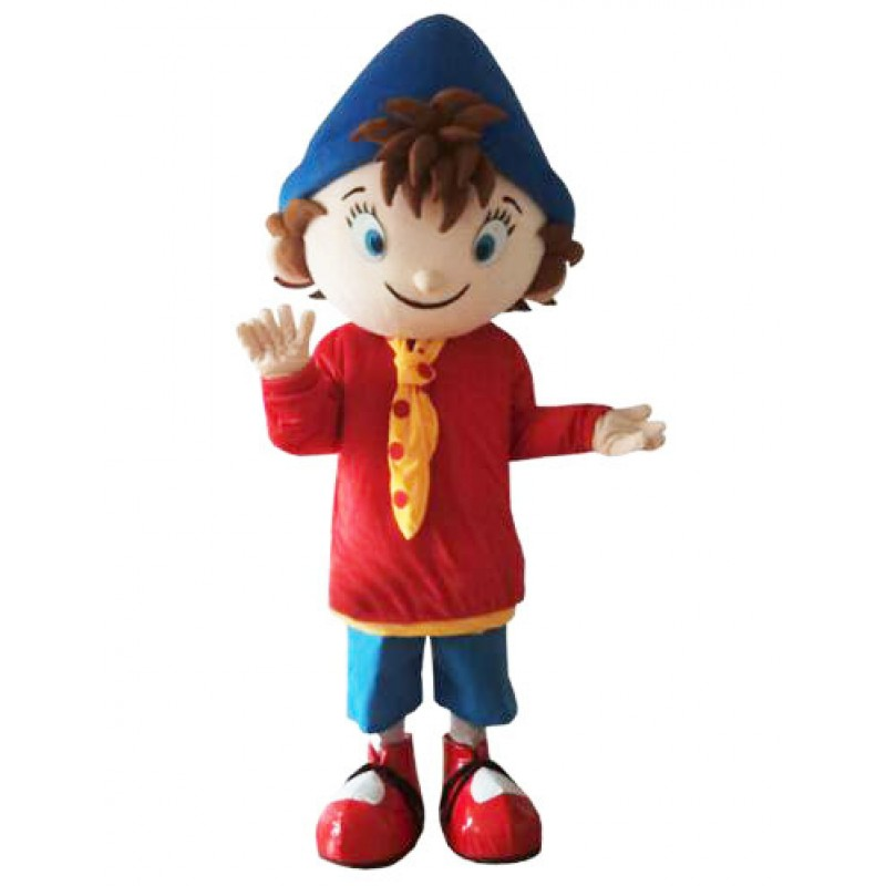 Noddy Mascot Costume Carnival Boy Cartoon Costume Free Shipping
