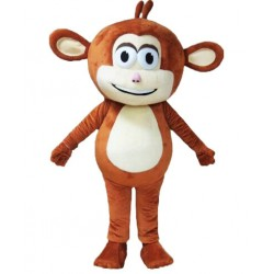 Brown Monkey Mascot Costume Free Shipping