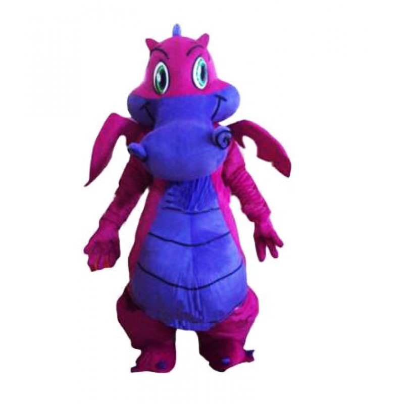 Cartoon Cute Dragon Mascot Costume Free Shipping