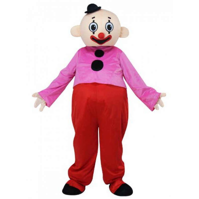 Pipo Clown Bumba Brother Mascot Costume Free Shipping