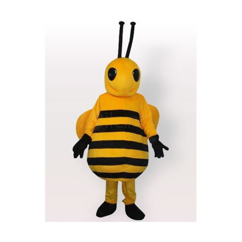 Cute Little Yellow Bee Mascot Costume