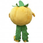 Halloween Pumpkin Mascot Costume Vegetable Costume for Adult