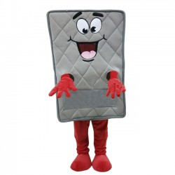 Gray Matress Mascot Costume Halloween Costume for Adult