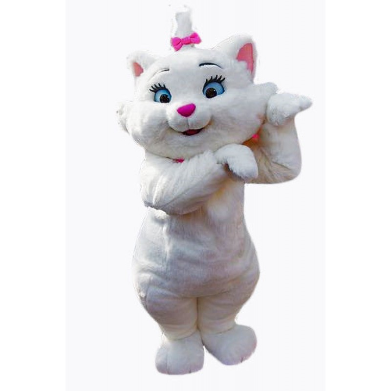Costume Kitty Cute Cat Mascot Costume Free Shipping
