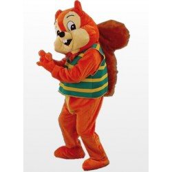 Orange Cute Squirrel Mascot Costume Free Shipping
