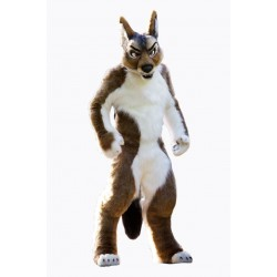 Fierce Wolf Mascot Costume Free Shipping