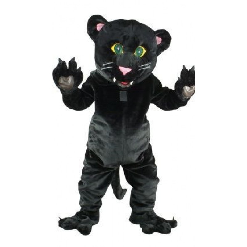 Friendly Black Panther Mascot Costume Free Shipping