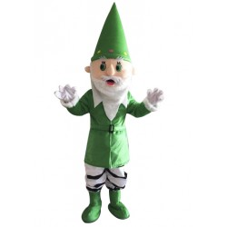 Green Santa Claus Mascot Costume