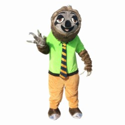 Zootopia Mascot Costume Cartoon Folivora Sloth
