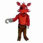 Five Nights At Freddy's Toy Red Foxy Mascot Costume