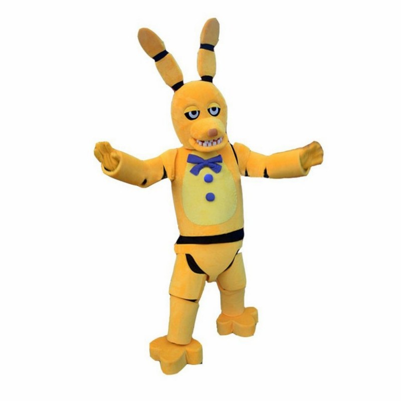 Five Nights At Freddy's Golden Bonnie Mascot Costume
