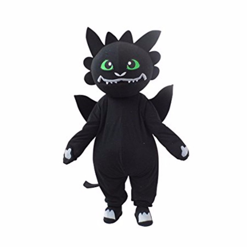 Plush Dragon Mascot Costume
