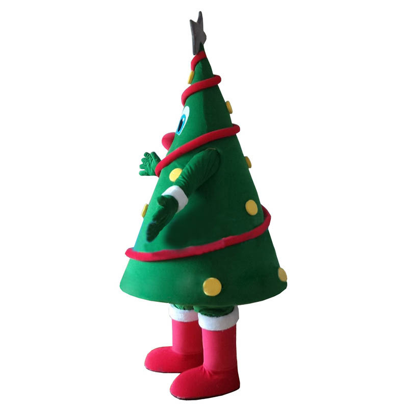 sc 1 st  ShopMascot.com & Green Christmas Tree Mascot Costume Free Shipping