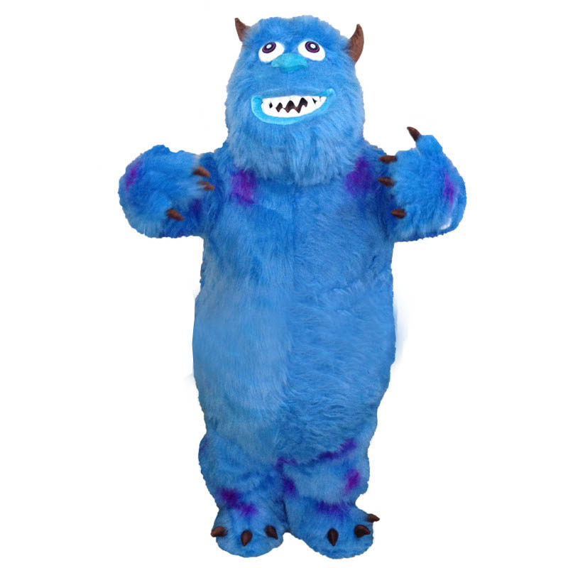James P. Sullivan Mascot Costume From Monsters University Fancy Dress Free Shipping