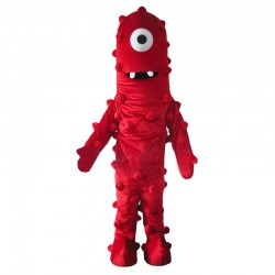 Muno Mascot Costume From Yo Gabba Gabba Cosplay Dress