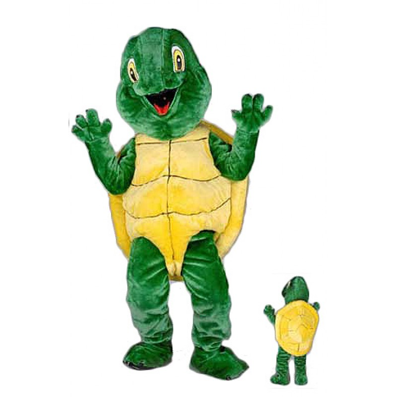 Plush Turtle Mascot Costume