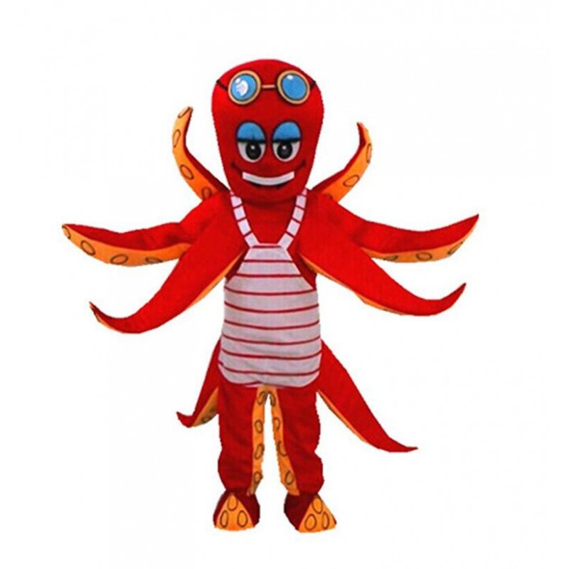 Octopus Adult Mascot Costume