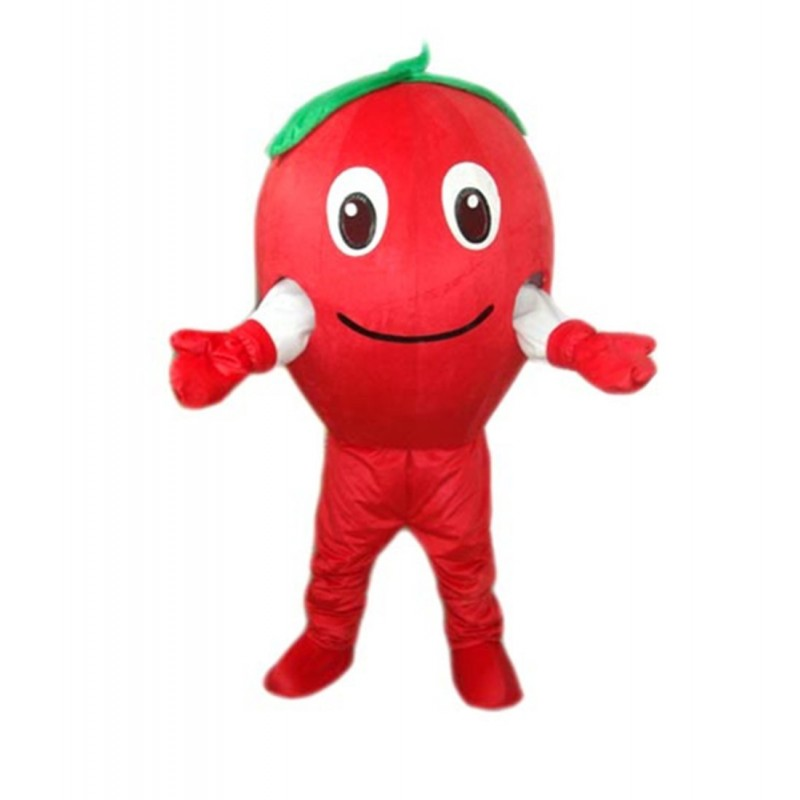 Red Apple Mascot Costume Free Shipping