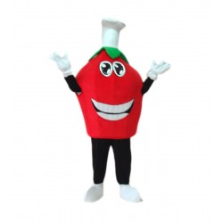 Strawberry Mascot Costume Free Shipping