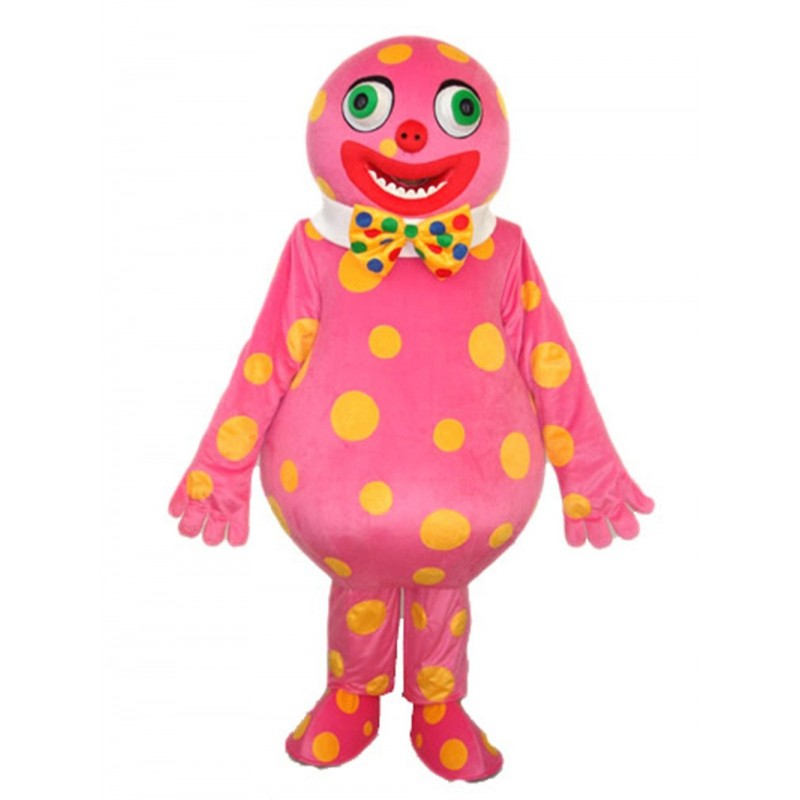 Spotted Clown Mascot Costume