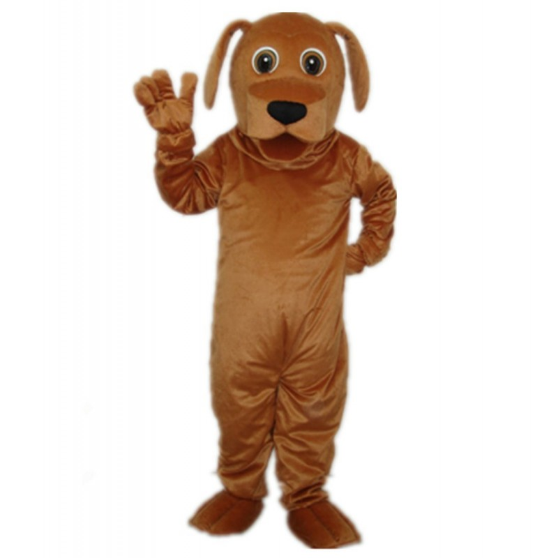 Golden Dog Adult Mascot Costume