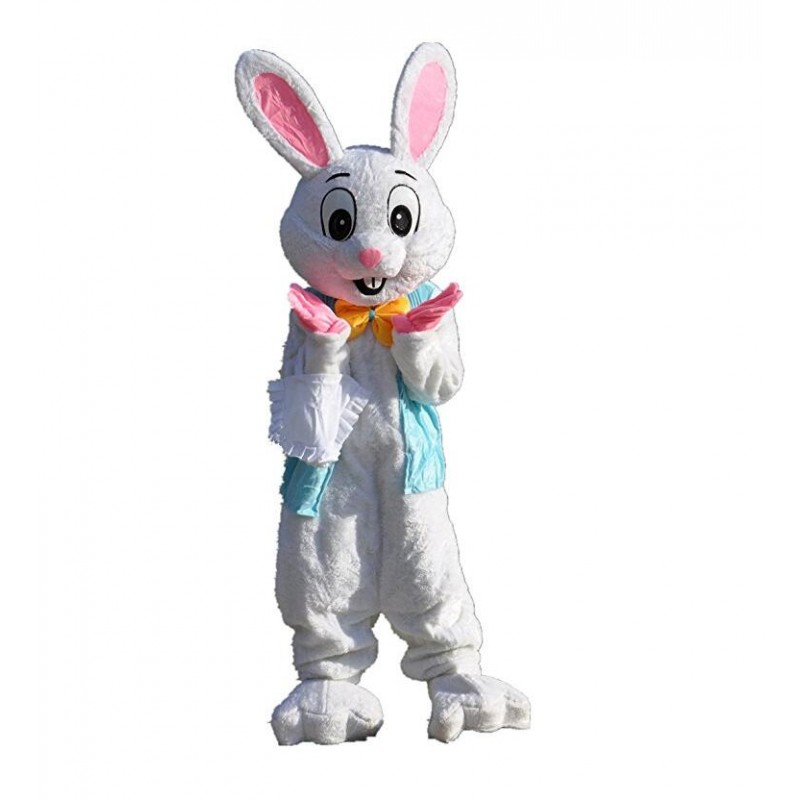 Deluxe Plush Easter Bunny Mascot Costume