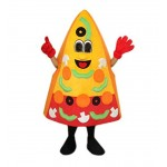 High Quality Pizza Mascot Costume