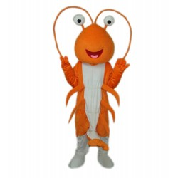 Shrimp/Prawn Adult Mascot Costum