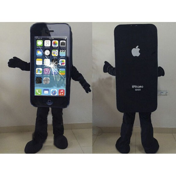 Broken Screen Iphone Mascot Costume